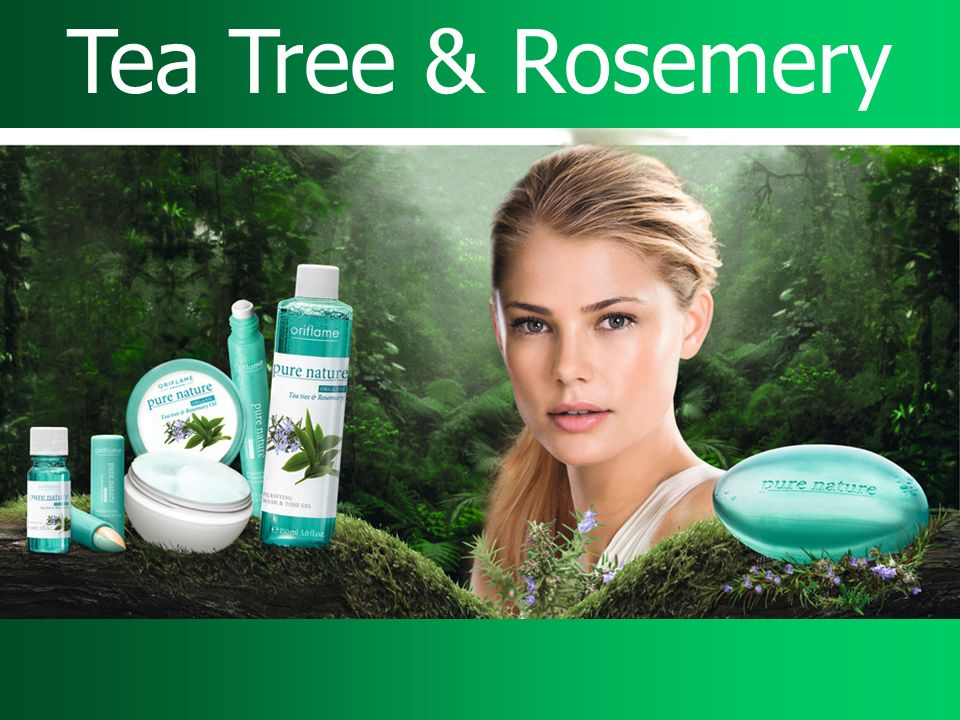 Tea Tree & Rosemery Tea Tree & Rosemery