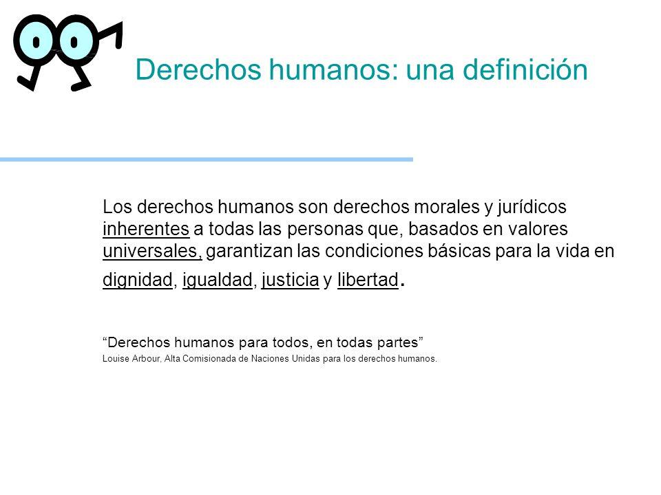 Derechos humanos: una definición