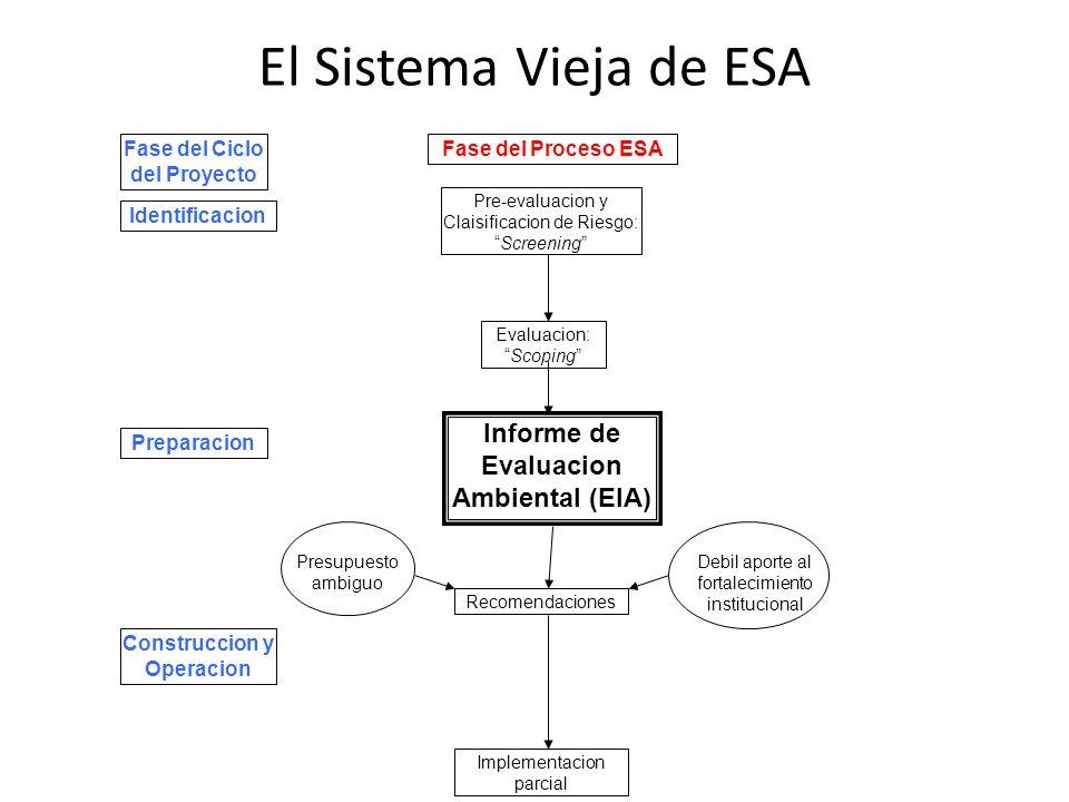 Fase del Ciclo del Proyecto Informe de Evaluacion Ambiental (EIA)