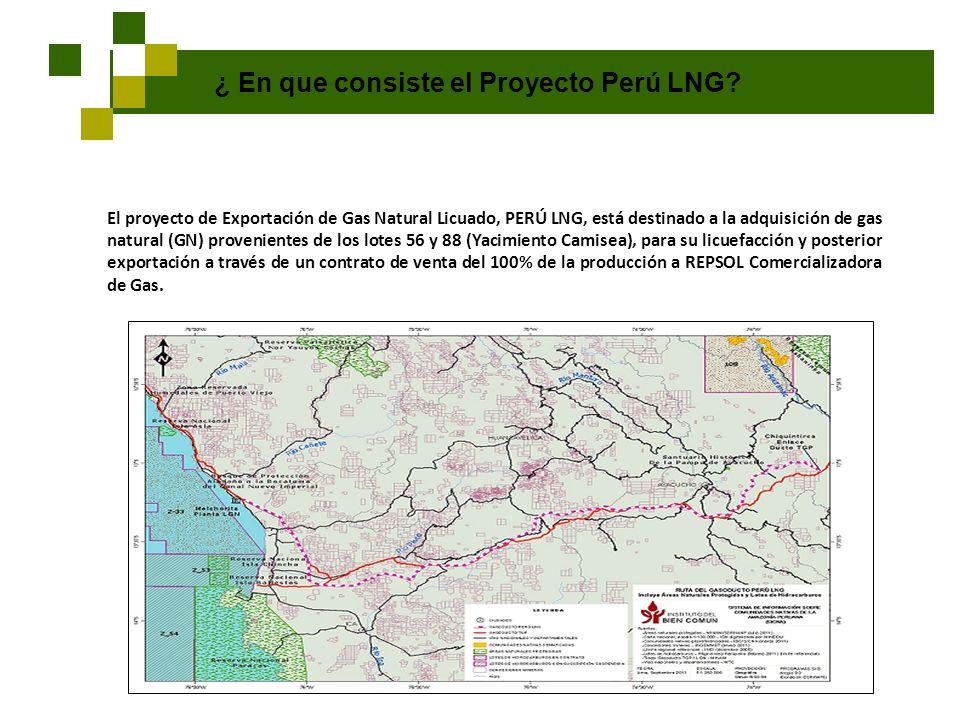 ¿ En que consiste el Proyecto Perú LNG