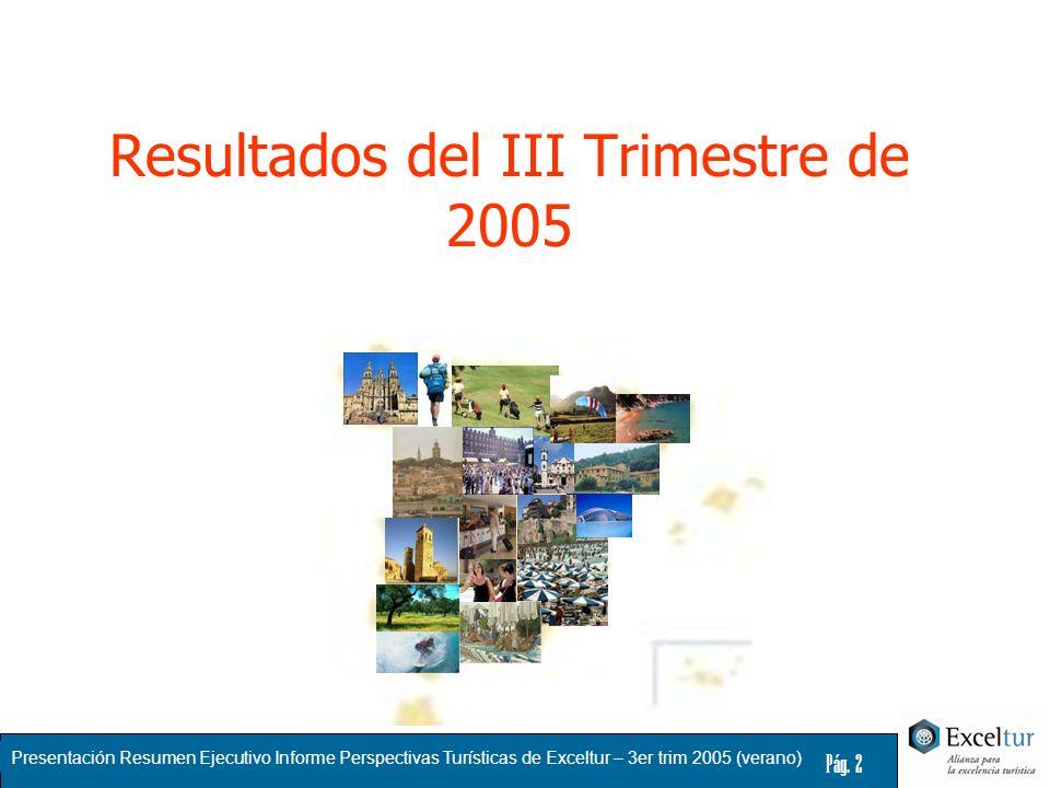 Resultados del III Trimestre de 2005