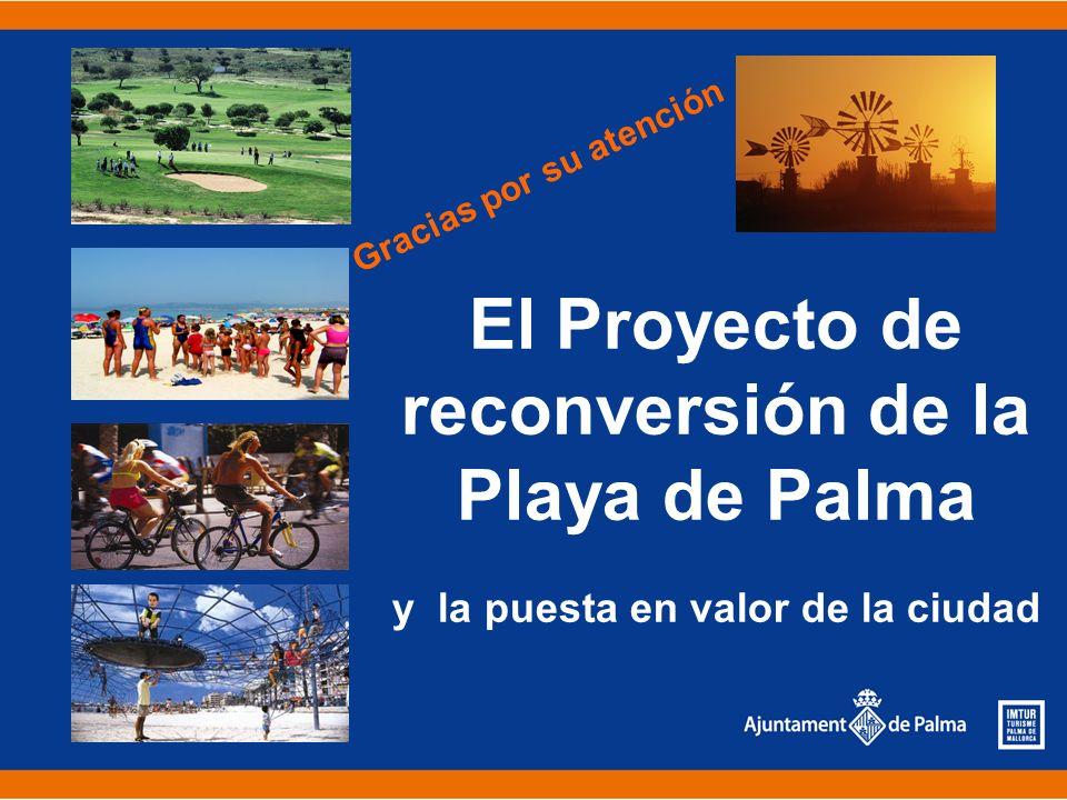 El Proyecto de reconversión de la Playa de Palma