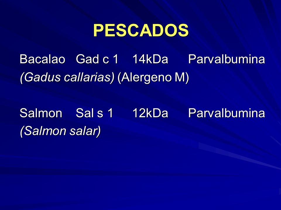 PESCADOS Bacalao Gad c 1 14kDa Parvalbumina