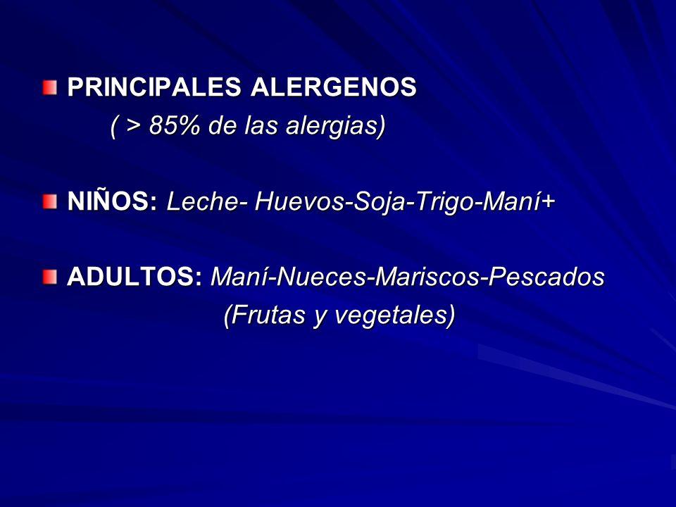 PRINCIPALES ALERGENOS