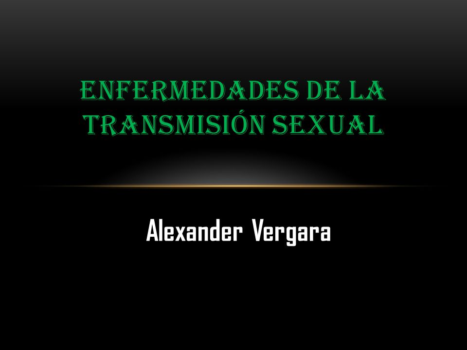 Enfermedades de la transmisión sexual