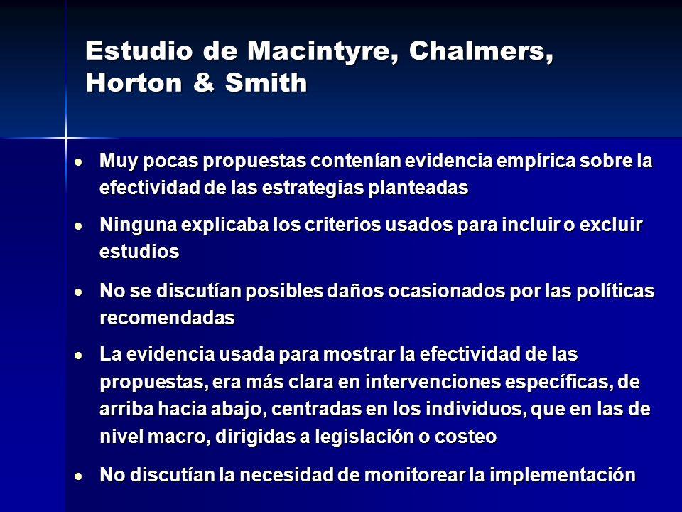 Estudio de Macintyre, Chalmers, Horton & Smith