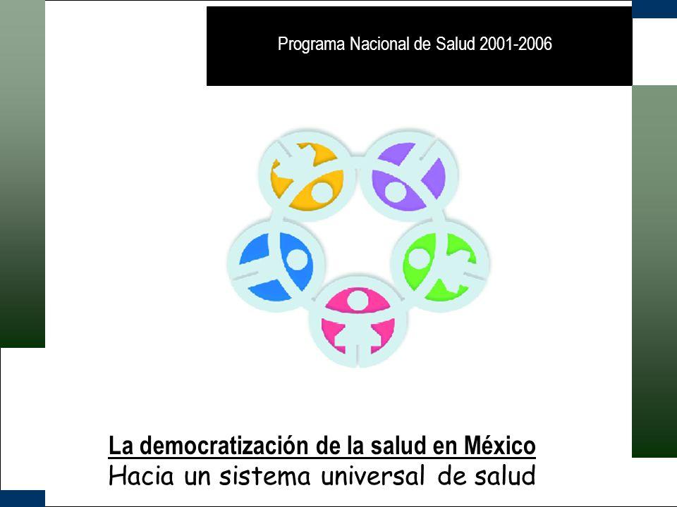 La democratización de la salud en México