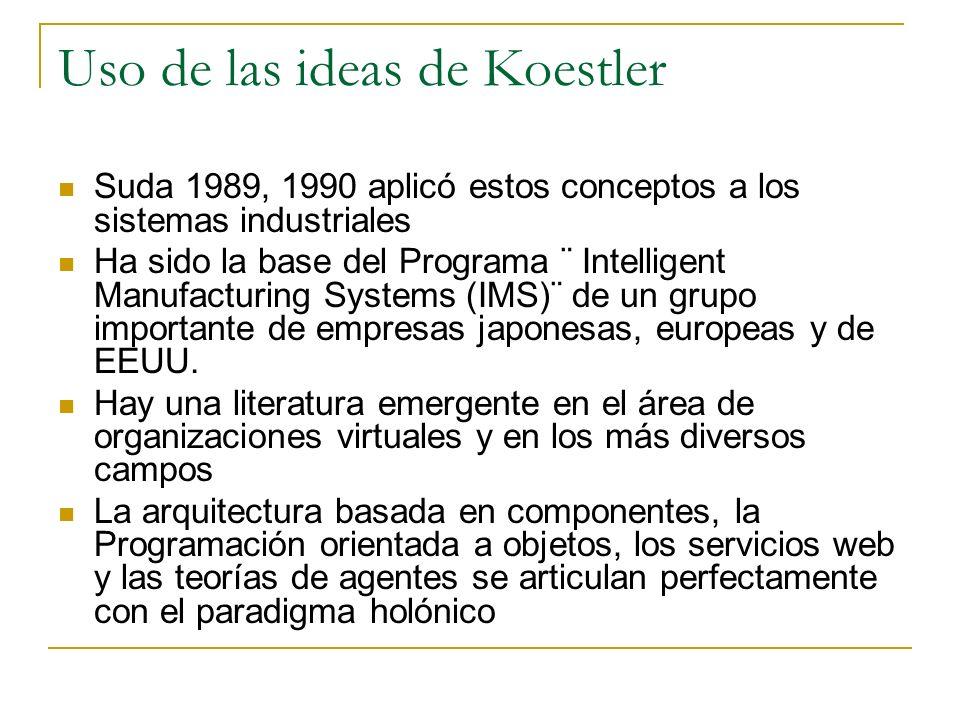 Uso de las ideas de Koestler