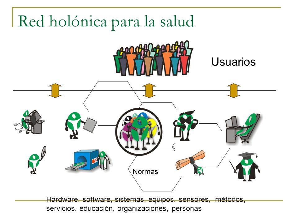 Red holónica para la salud