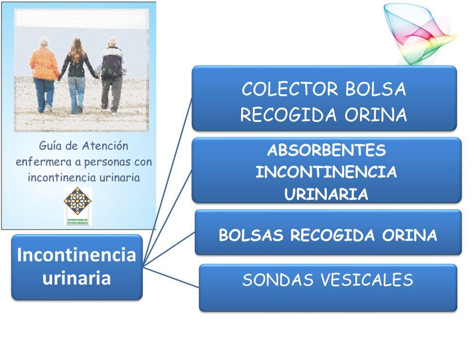 Incontinencia urinaria ABSORBENTES INCONTINENCIA