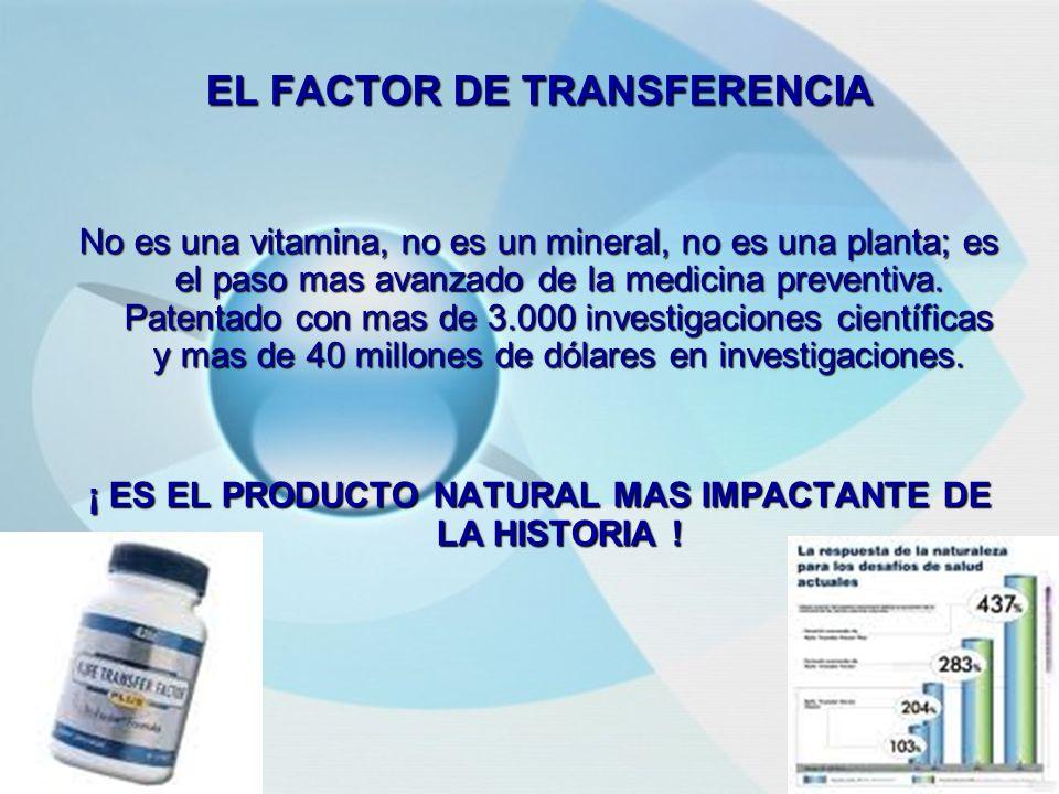 EL FACTOR DE TRANSFERENCIA