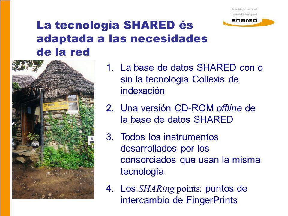 La tecnología SHARED és adaptada a las necesidades de la red