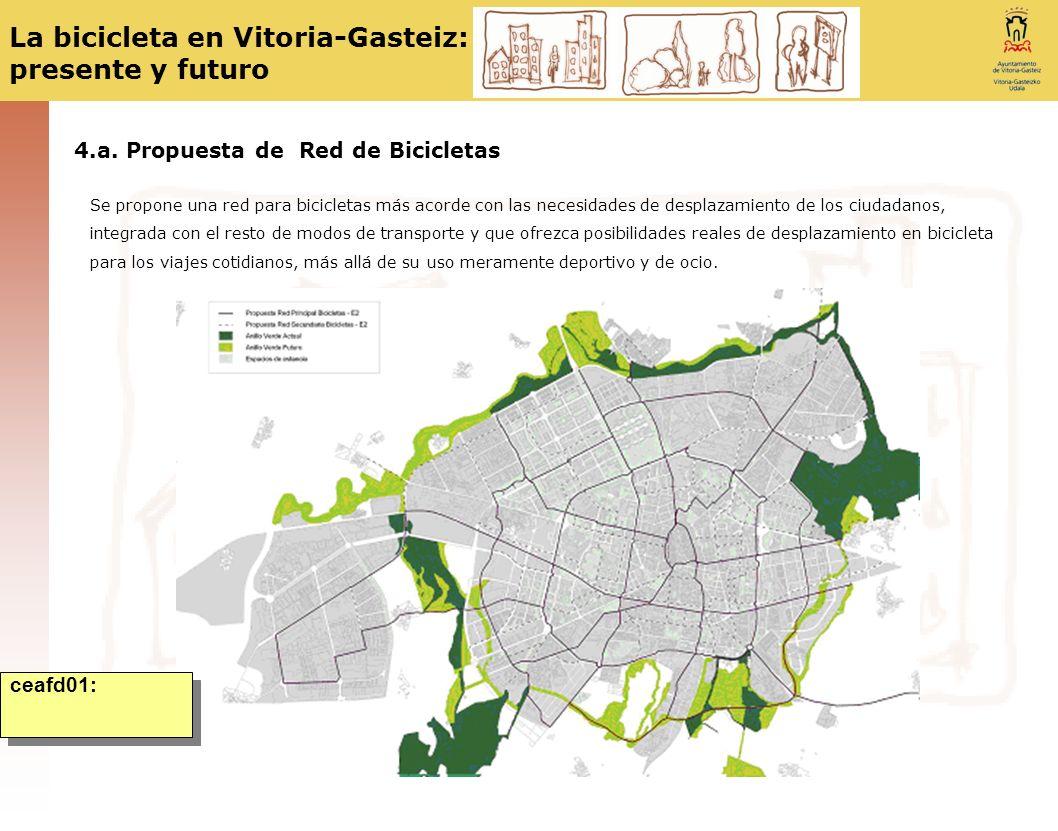4.a. Propuesta de Red de Bicicletas