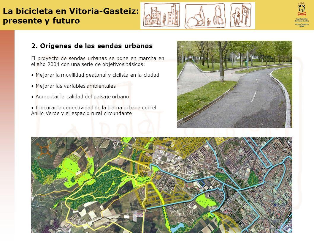 2. Orígenes de las sendas urbanas