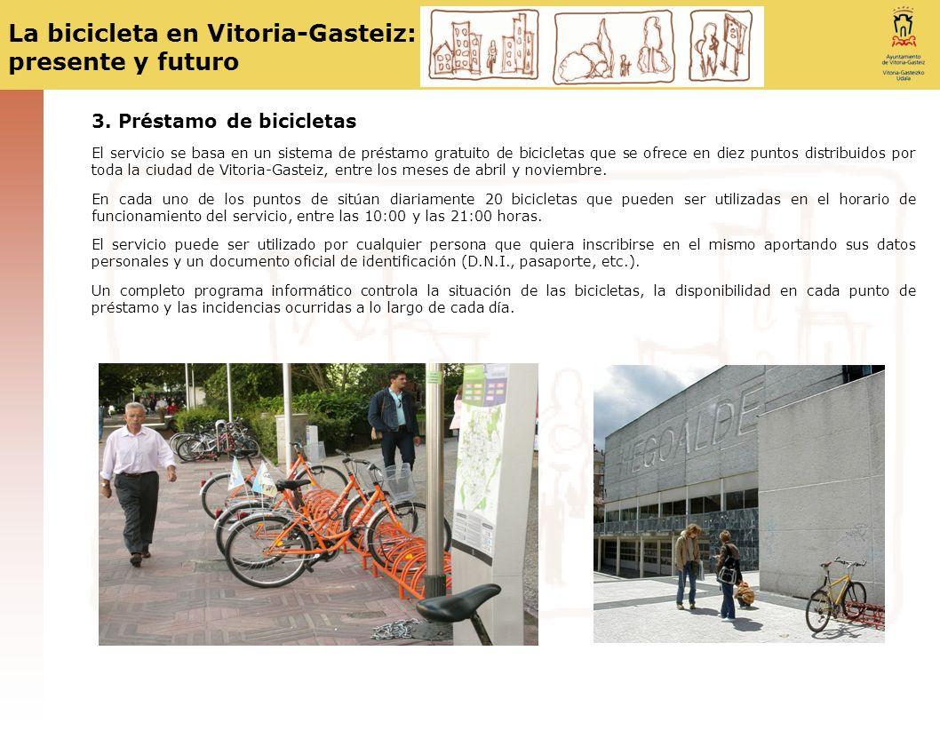 3. Préstamo de bicicletas