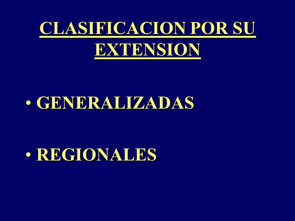 CLASIFICACION POR SU EXTENSION