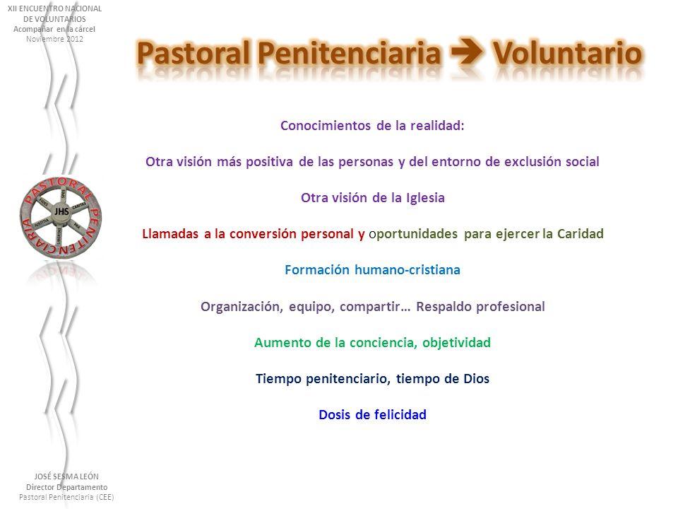 Pastoral Penitenciaria  Voluntario