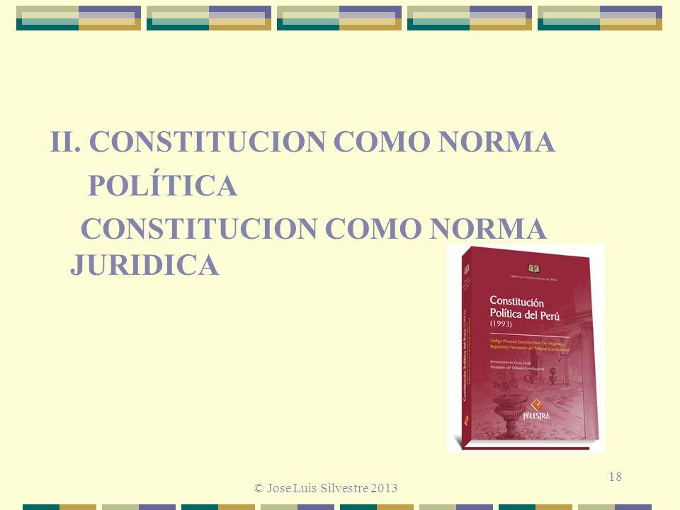 II. CONSTITUCION COMO NORMA