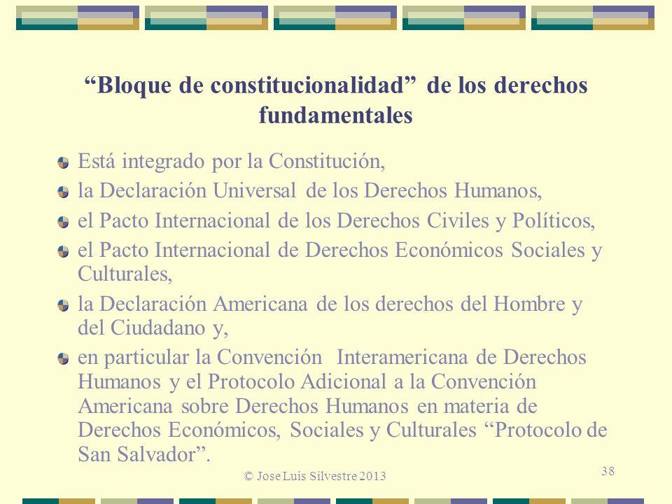 Bloque de constitucionalidad de los derechos fundamentales