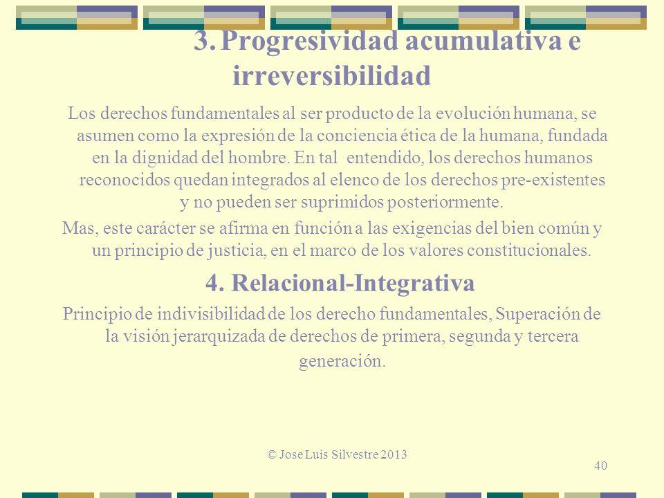 3. Progresividad acumulativa e irreversibilidad