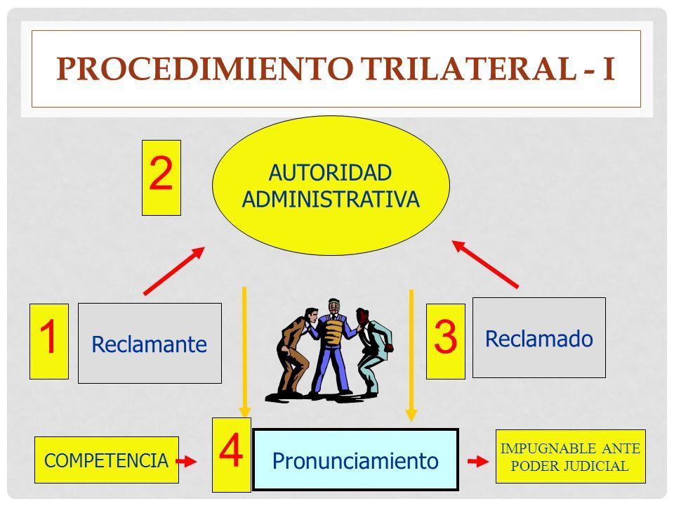 Procedimiento trilateral - i