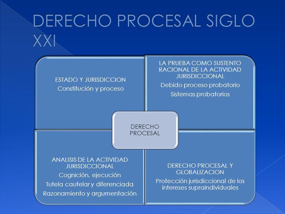 DERECHO PROCESAL SIGLO XXI