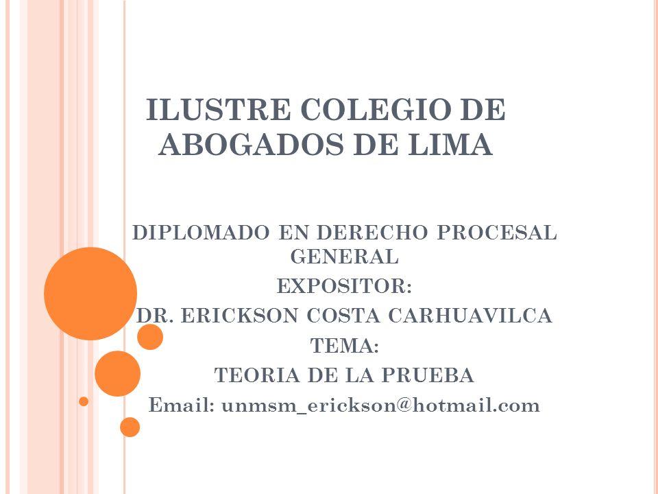 ILUSTRE COLEGIO DE ABOGADOS DE LIMA