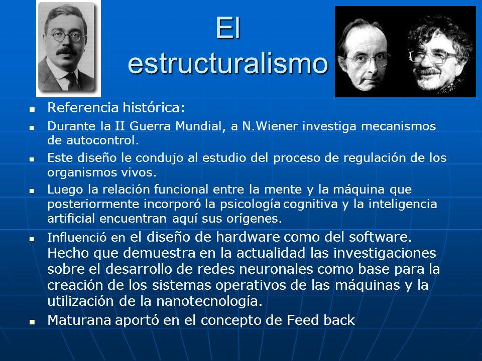 El estructuralismo Referencia histórica: