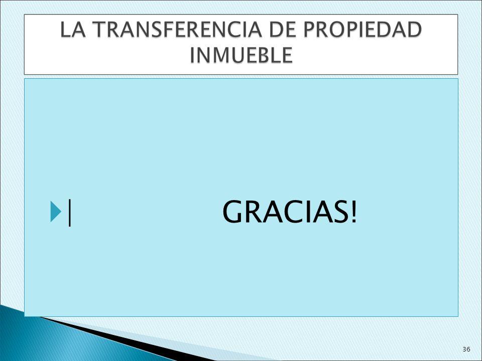 | GRACIAS! 36 36