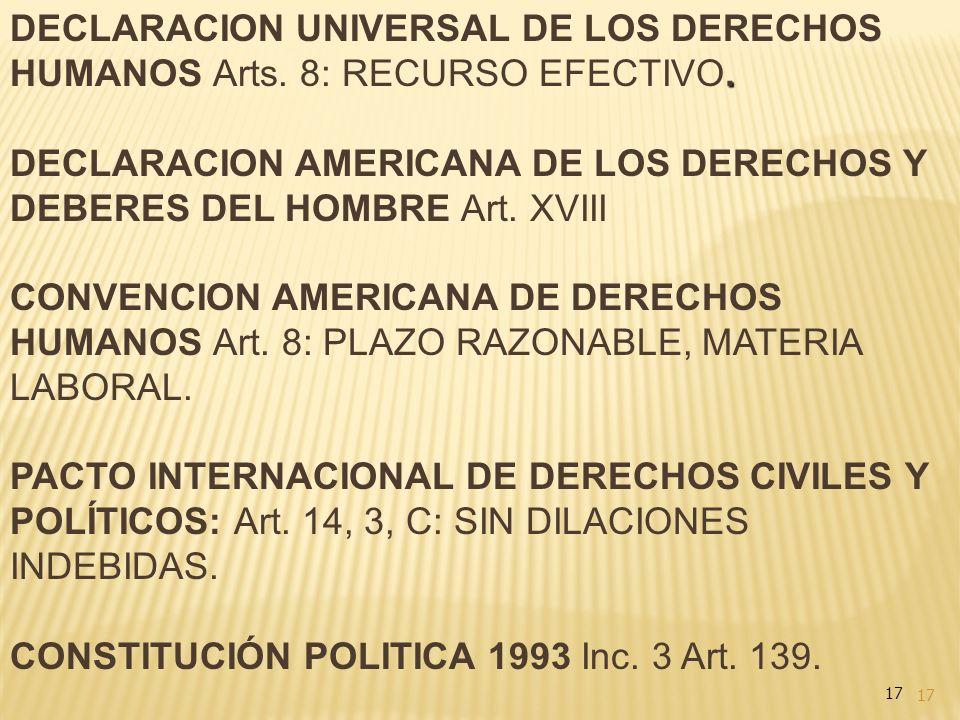 CONSTITUCIÓN POLITICA 1993 Inc. 3 Art. 139.