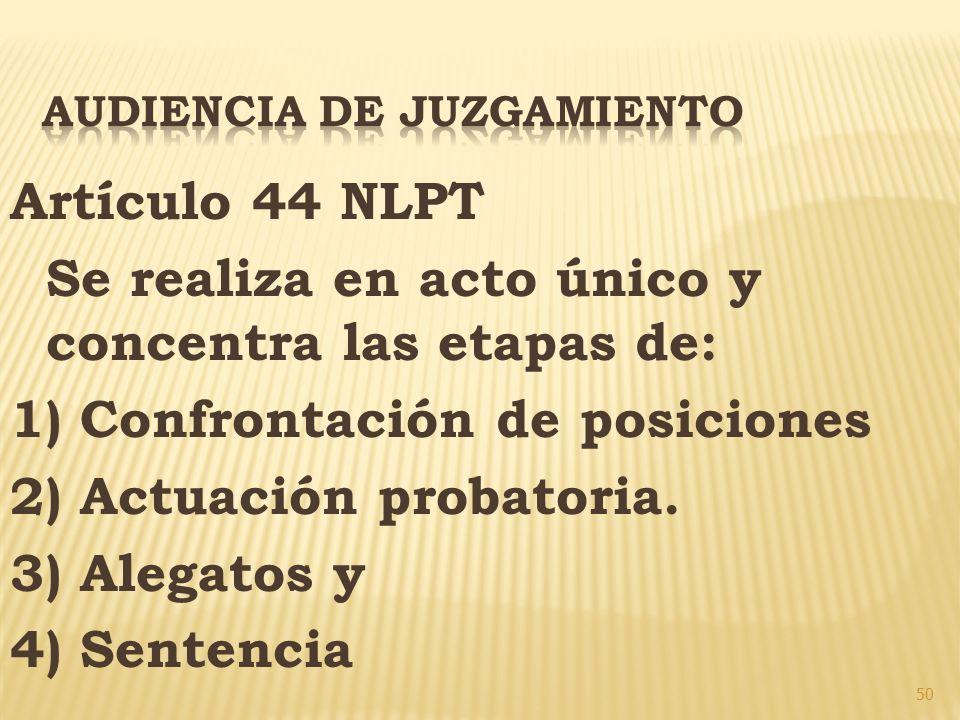 AUDIENCIA DE JUZGAMIENTO