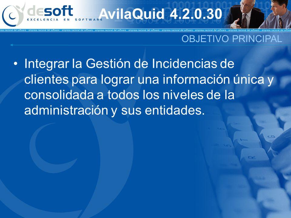 AvilaQuid 4.2.0.30 OBJETIVO PRINCIPAL.