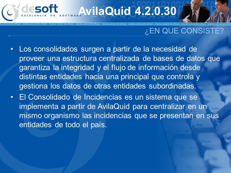 AvilaQuid 4.2.0.30 ¿EN QUE CONSISTE