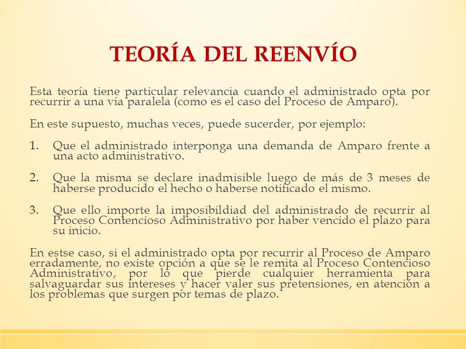 TEORÍA DEL REENVÍO