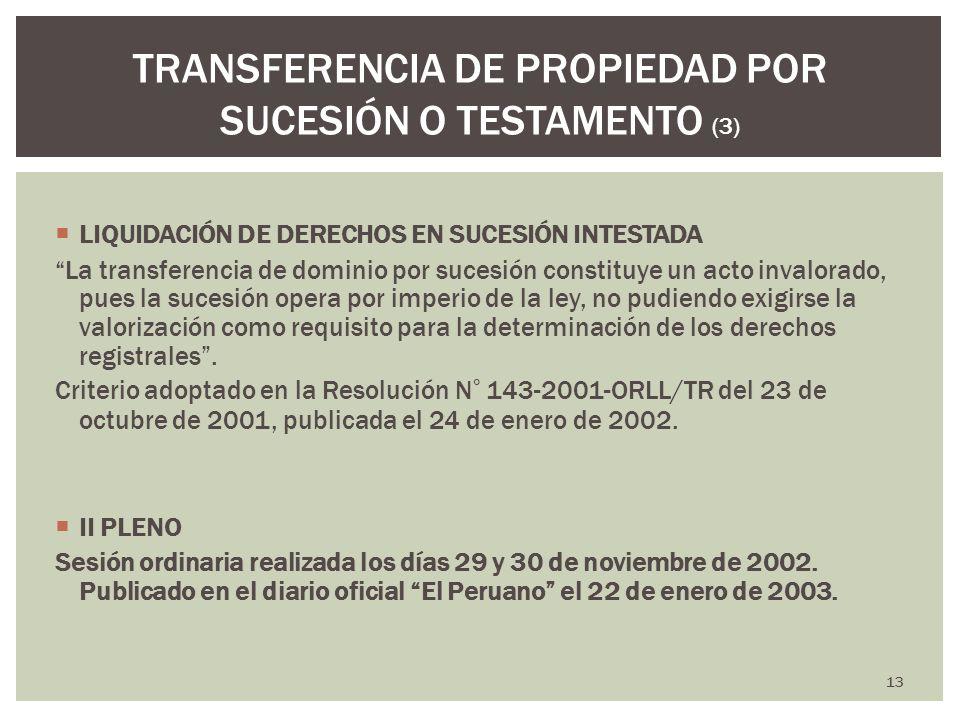 TRANSFERENCIA DE PROPIEDAD POR SUCESIÓN O TESTAMENTO (3)