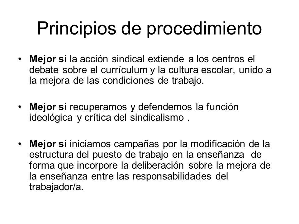 Principios de procedimiento