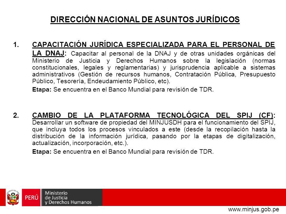 DIRECCIÓN NACIONAL DE ASUNTOS JURÍDICOS