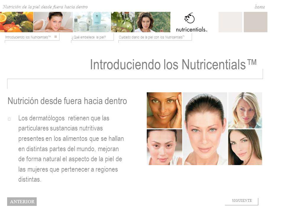 Introduciendo los Nutricentials™