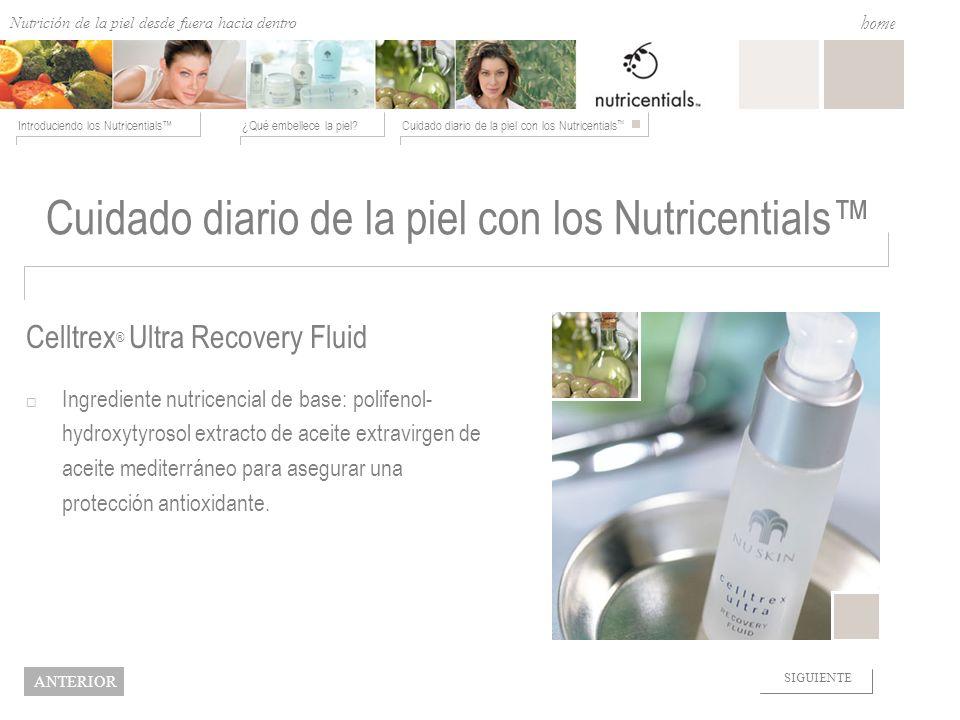 Cuidado diario de la piel con los Nutricentials™
