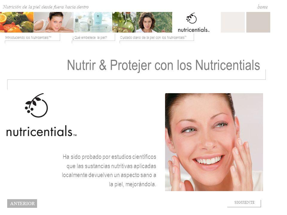 Nutrir & Protejer con los Nutricentials