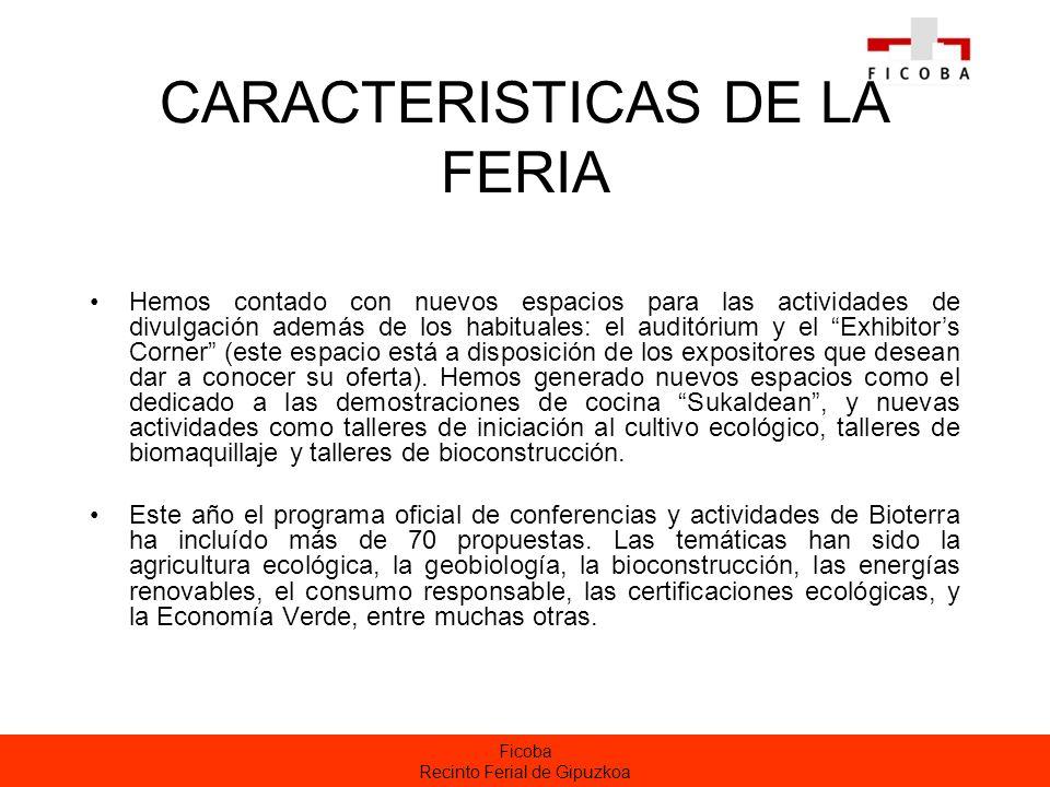 CARACTERISTICAS DE LA FERIA