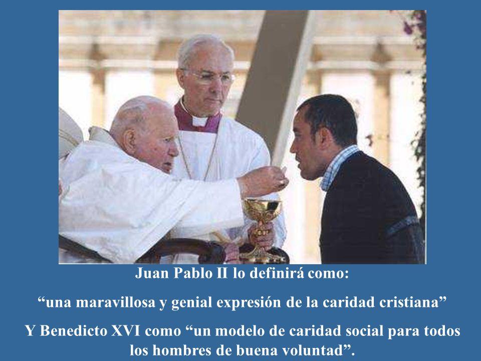 Juan Pablo II lo definirá como: