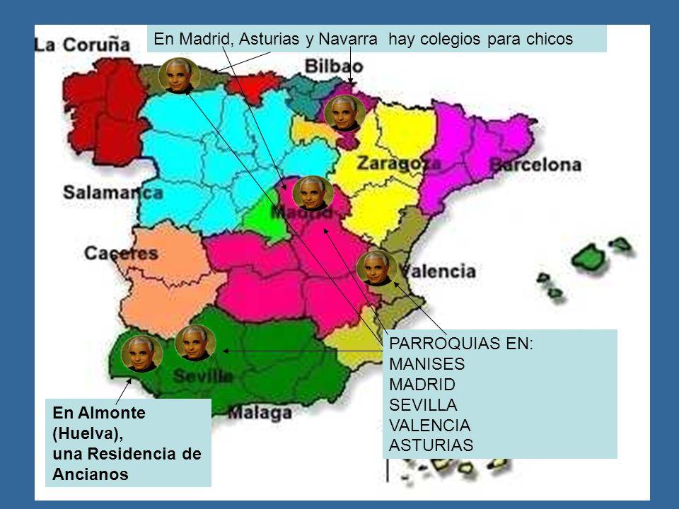 En Madrid, Asturias y Navarra hay colegios para chicos