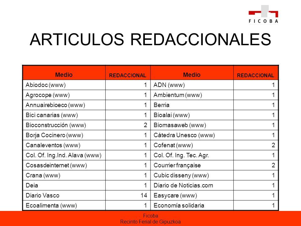 ARTICULOS REDACCIONALES