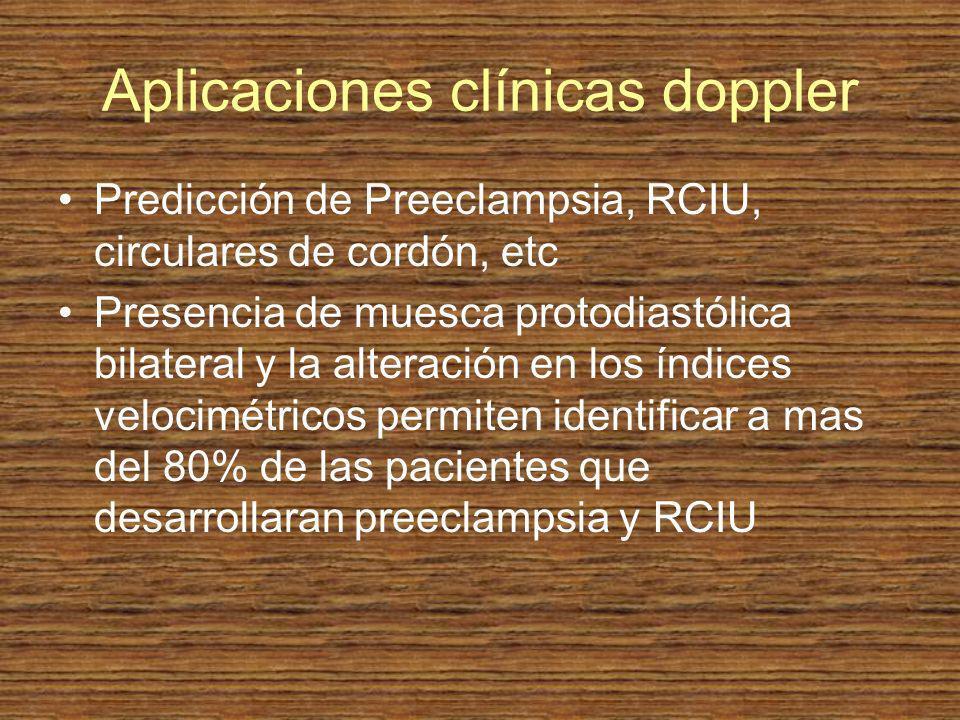 Aplicaciones clínicas doppler