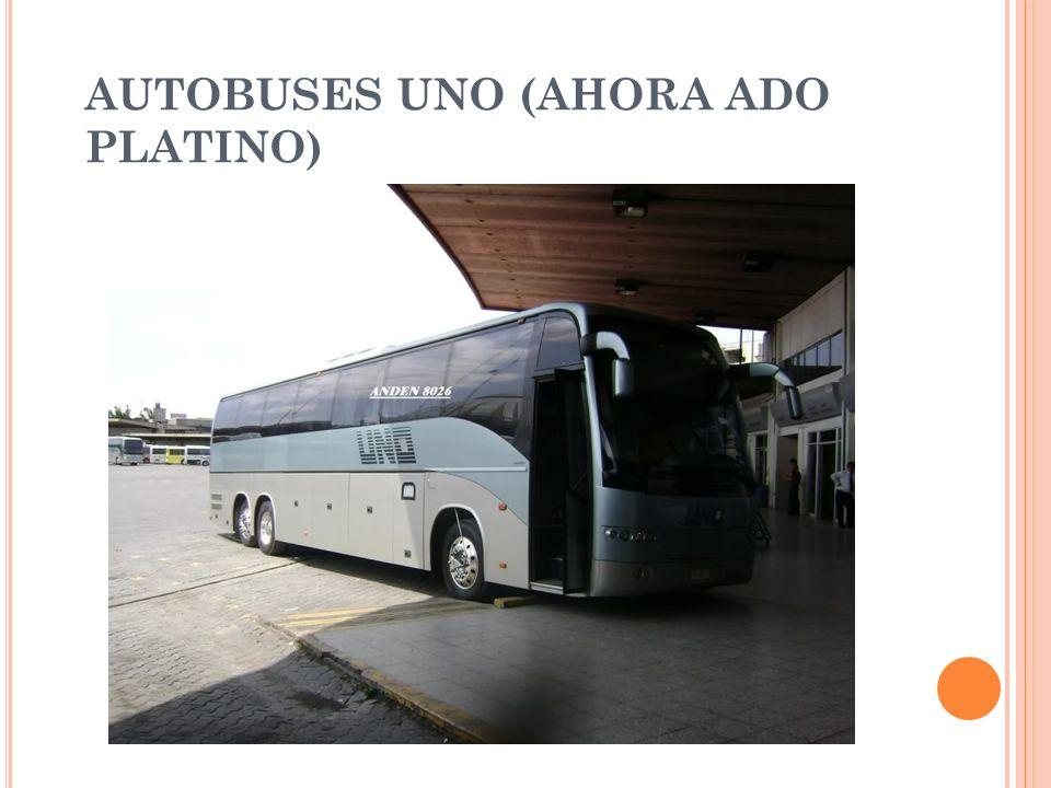 AUTOBUSES UNO (AHORA ADO PLATINO)