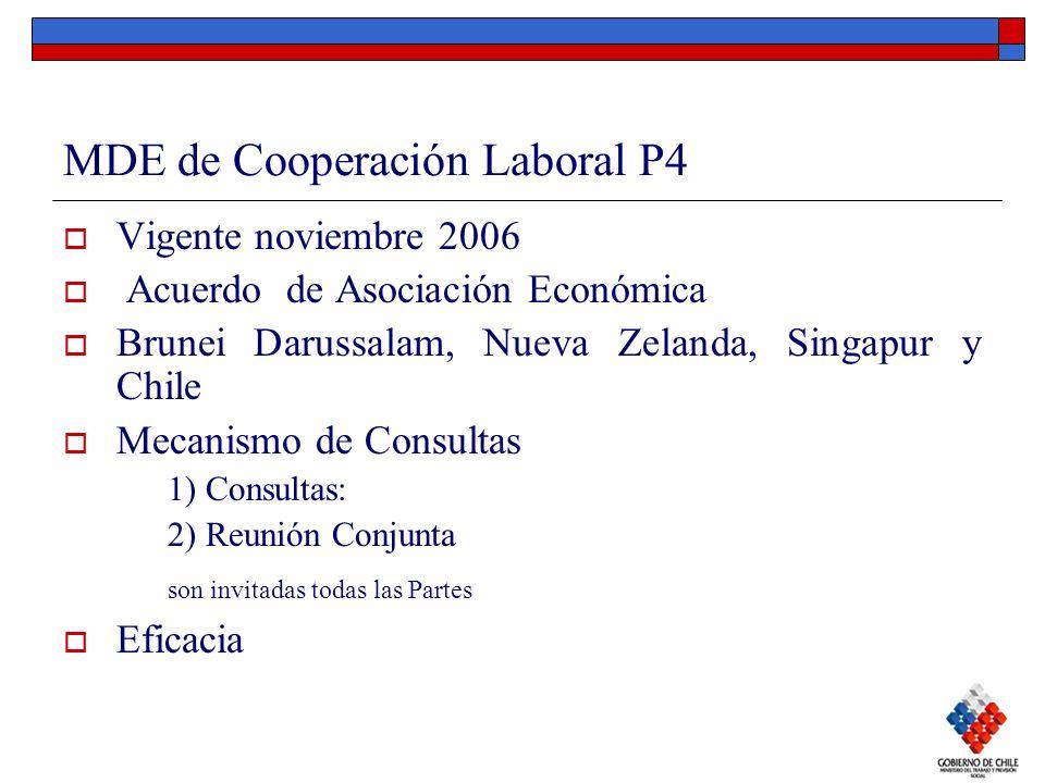 MDE de Cooperación Laboral P4