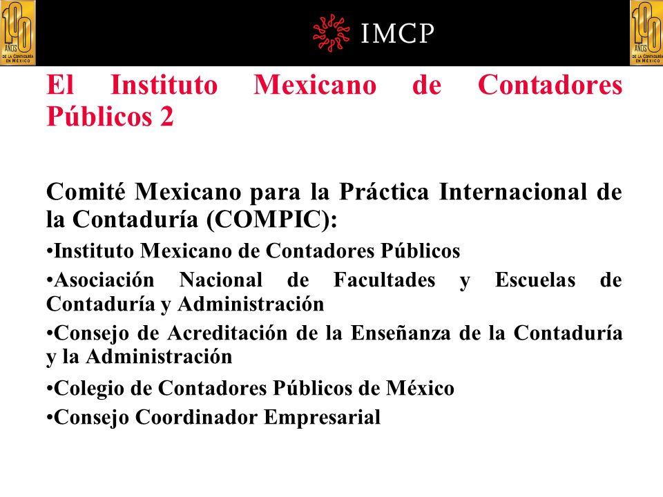 El Instituto Mexicano de Contadores Públicos 2