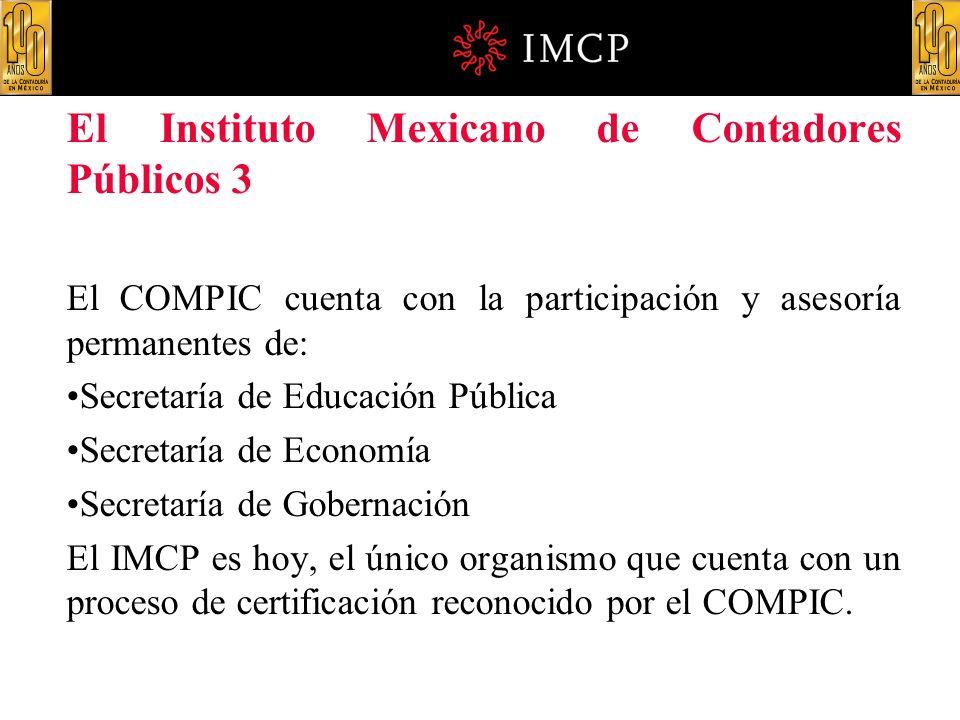 El Instituto Mexicano de Contadores Públicos 3