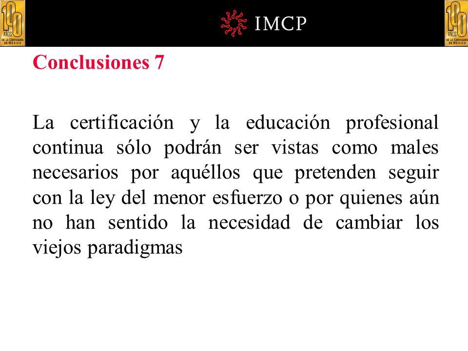 Conclusiones 7